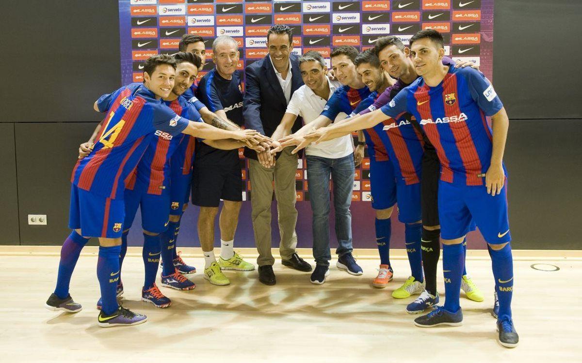 Las siete caras nuevas del Barça Lassa 2016/17