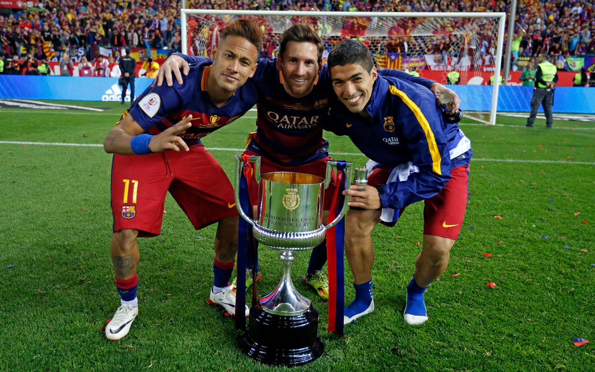 One month since FC Barcelona won the double