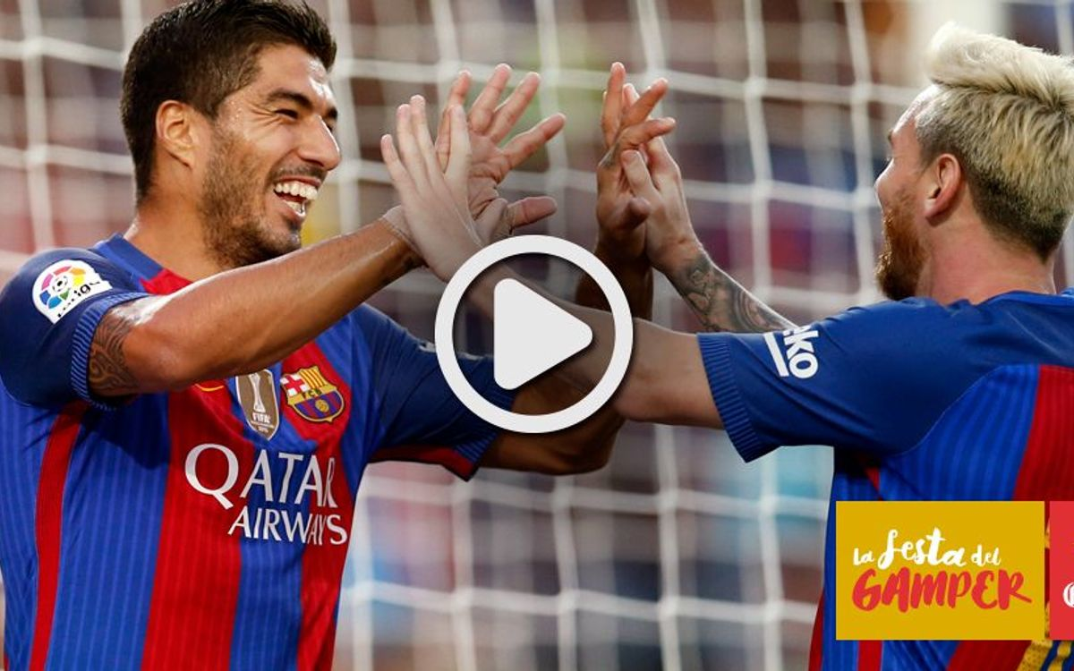 Gamper Trophy video highlights: FC Barcelona v Sampdoria