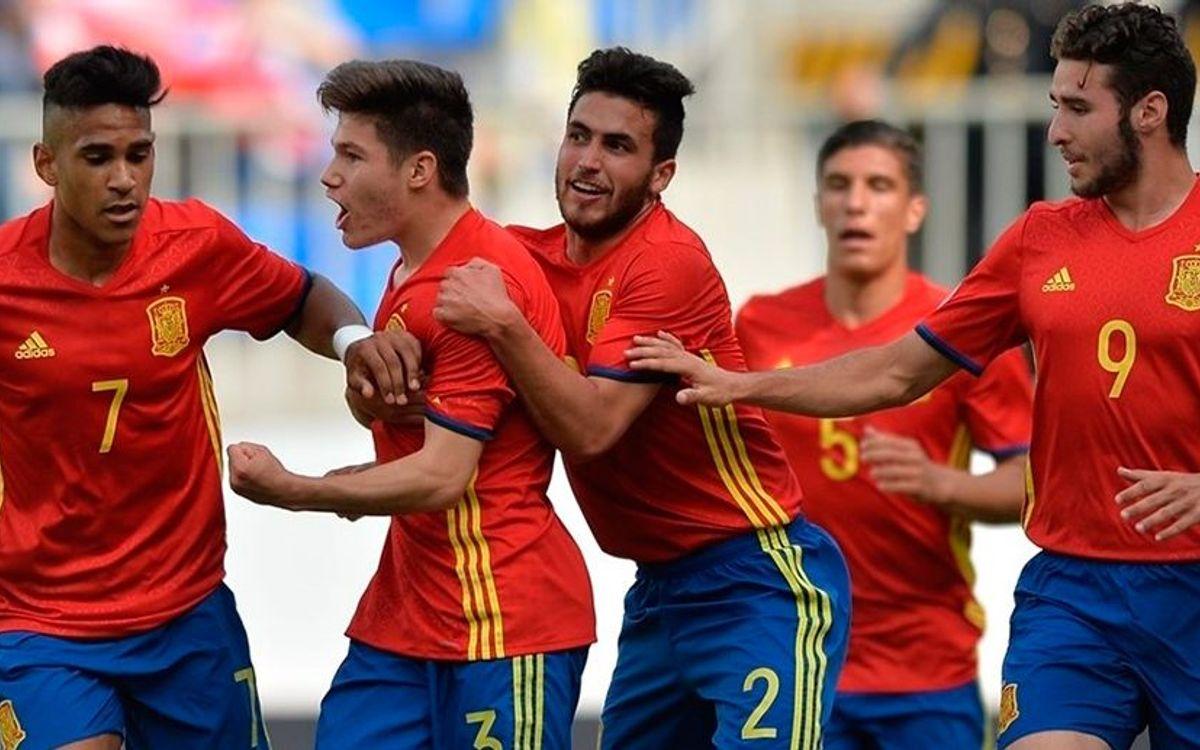 La sub17 española jugará contra Alemania la semifinal del Europeo