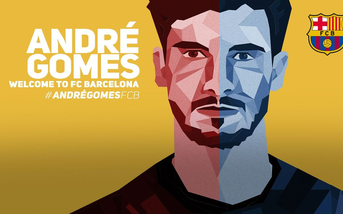 LIVE: Presentation of André Gomes as a new FC Barcelona player