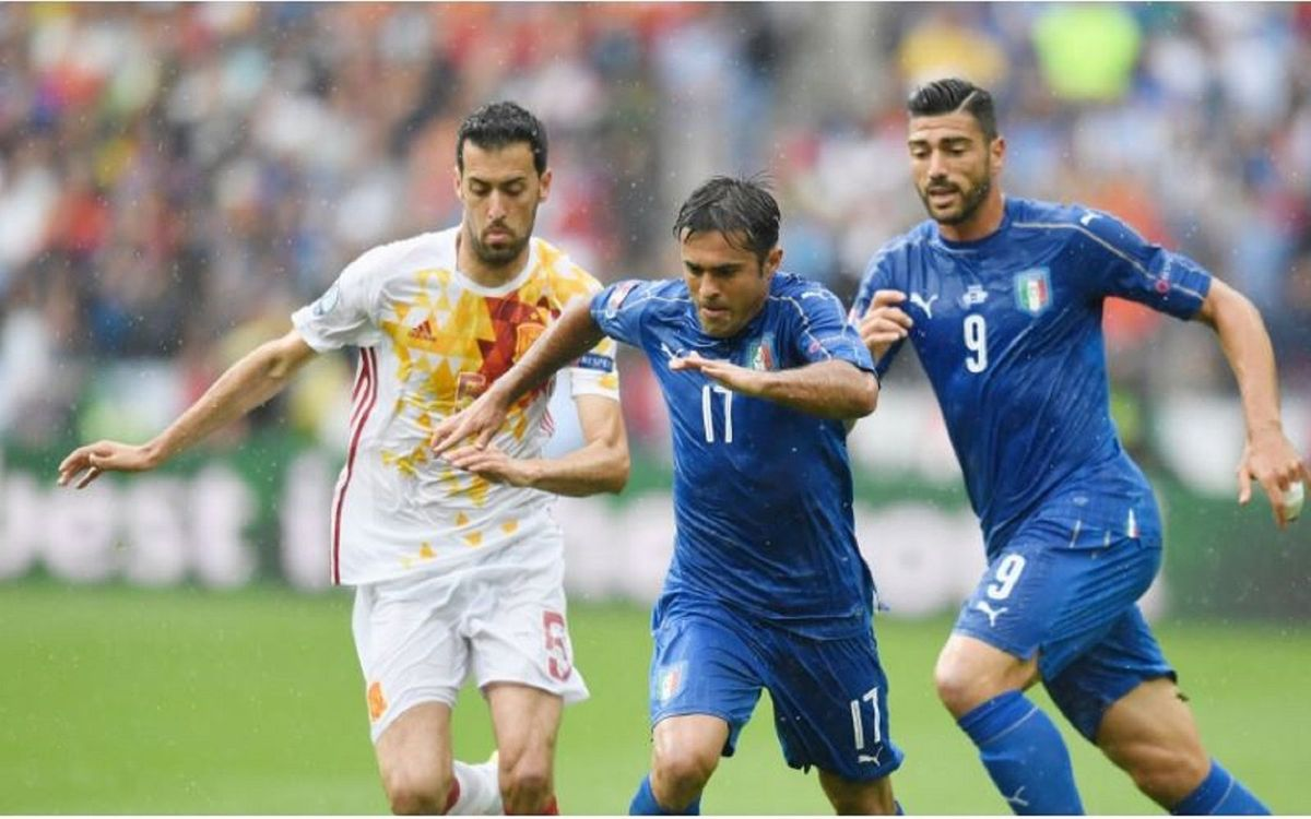 Italy put Spain out of Euro 2016