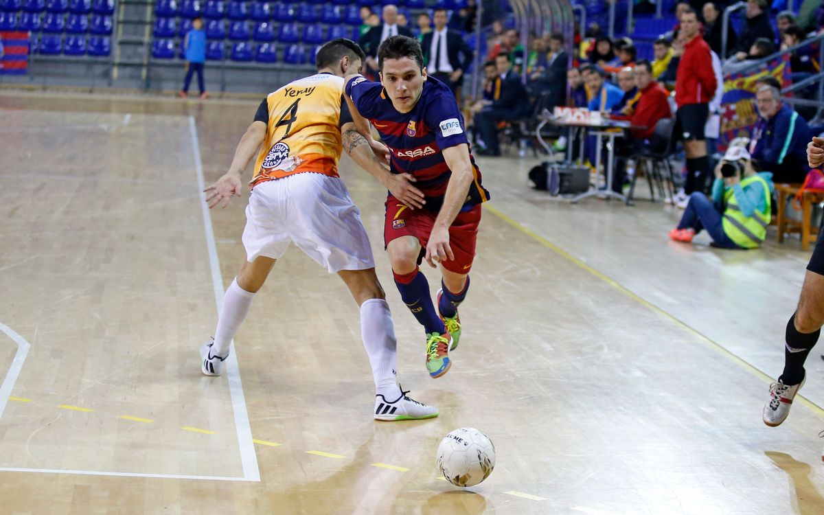 El Peñíscola RehabMedic, primer rival del Barça Lassa en la Liga