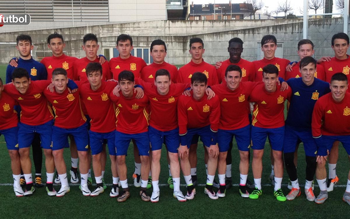 Seis azulgrana, convocados con la sub17 española