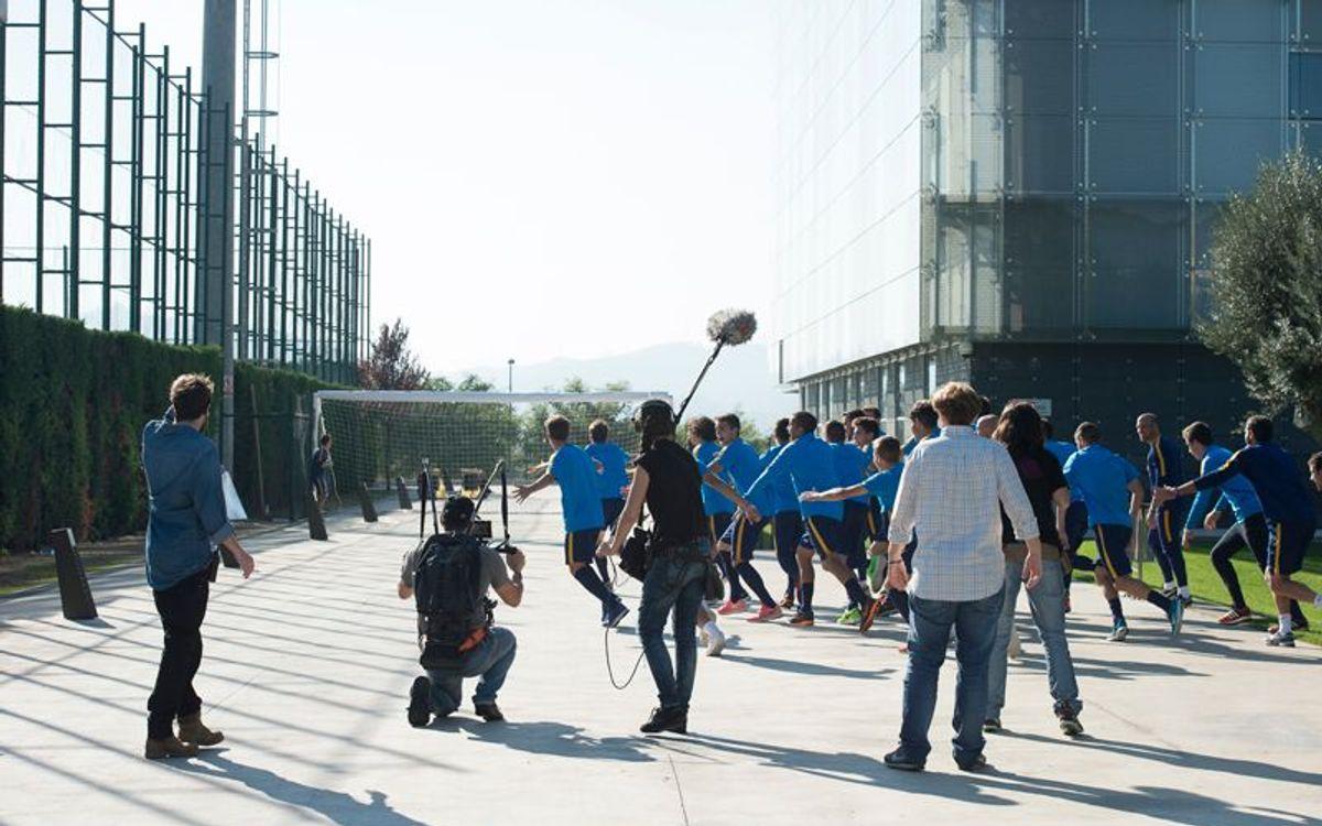 El Juvenil A guanya el concurs 'Skills Challenge' de la UEFA Youth League