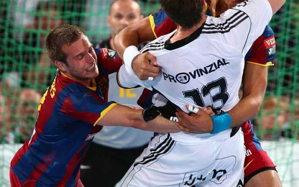 Què ha fet el Barça d'handbol a Kiel?