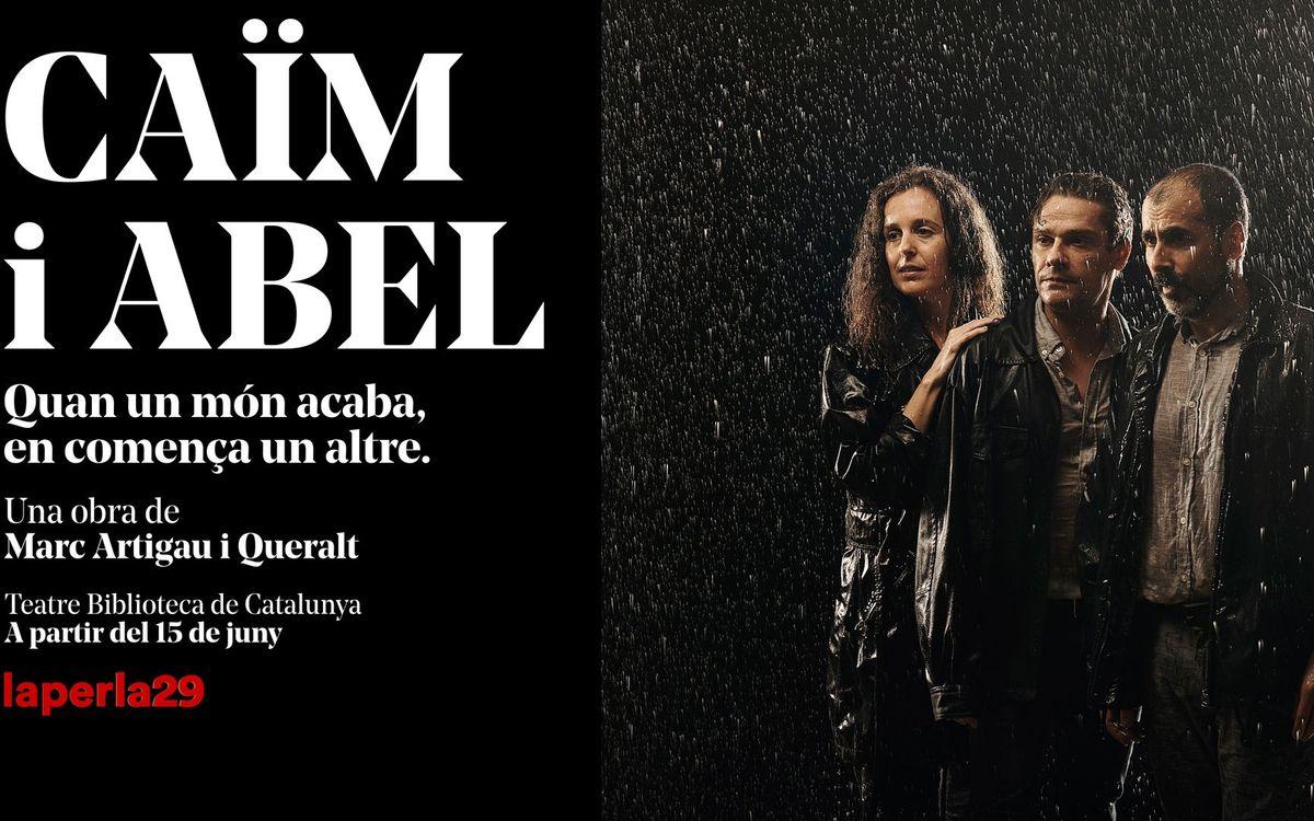 'Caïm i Abel' en el Teatre Biblioteca de Catalunya en Barcelona con precio exclusivo para los socios