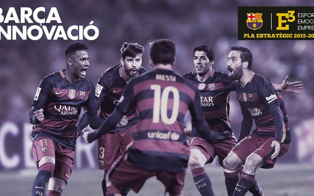 El FC Barcelona, primer club del mundo en gestión de la innovación