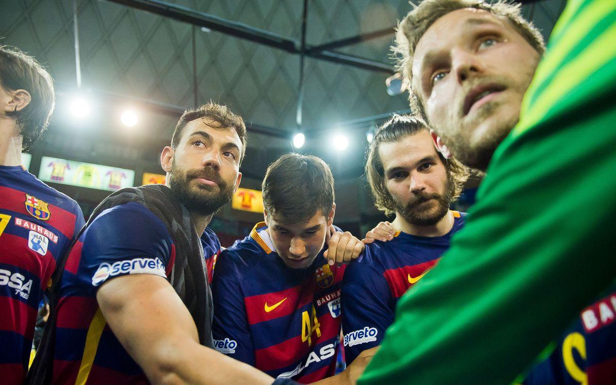 FC Barcelona Lassa v Naturhouse la Rioja: Happy ending (36-32)
