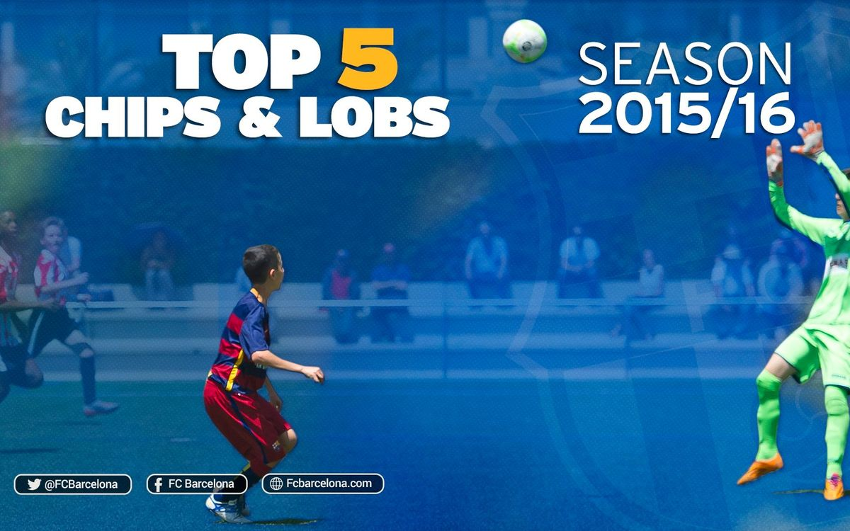 The five best lobbed goals from the FC Barcelona academy