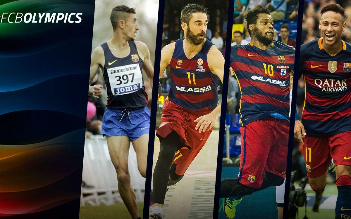 22 deportistas del FC Barcelona competirán en los Juegos Olímpicos de Río