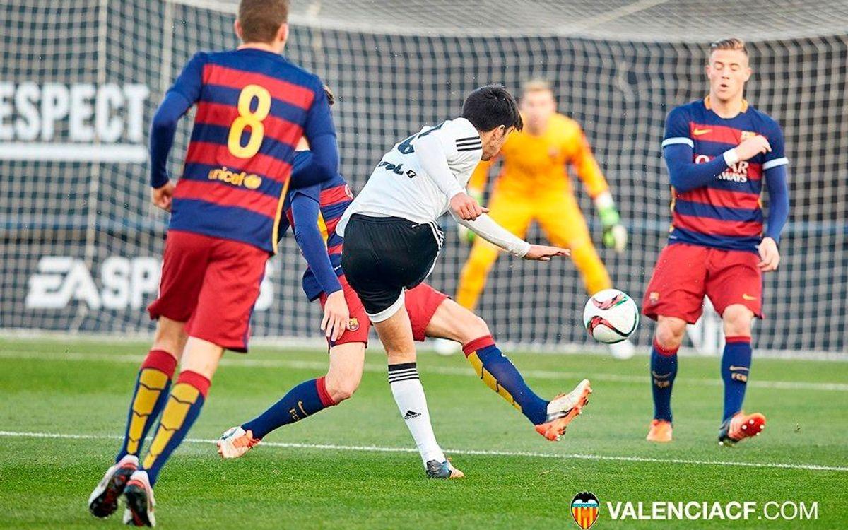 Barça B - Valencia Mestalla: Un Sant Jordi con duelo de filiales en el Mini