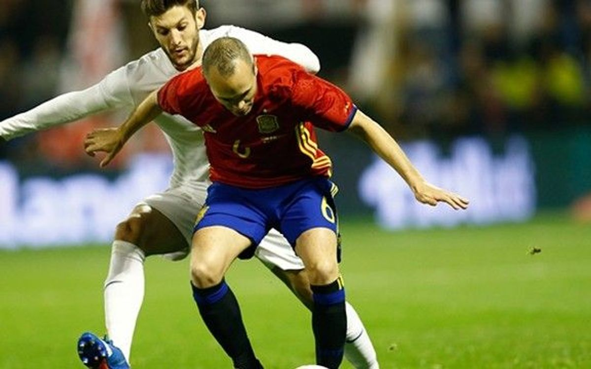 Spain fall to Georgia, 1–0, in final Euro tune up