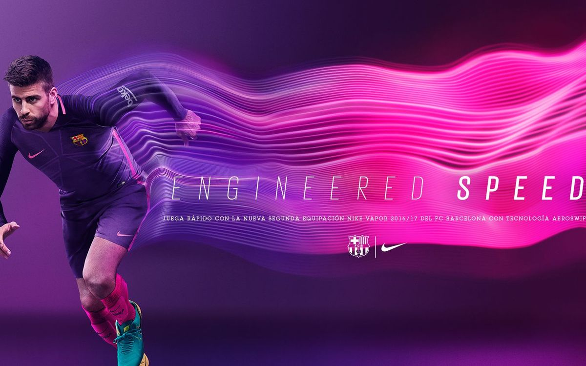 Get the new 2016/17 FC Barcelona away kit on nike.com/fcb