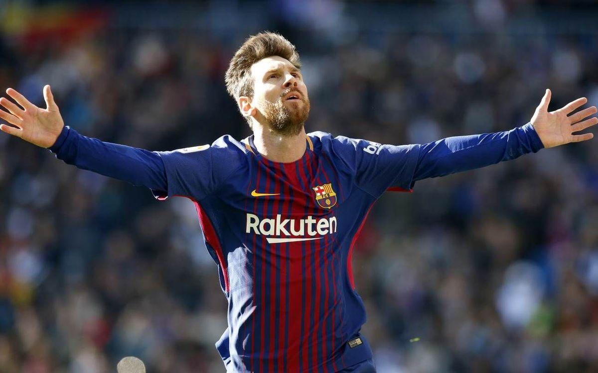 Todos los goles de Leo Messi