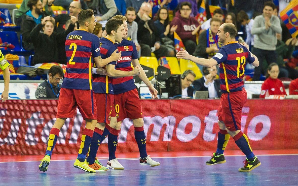 El Barça y el exclusivo club de las 20 victorias en la LNFS