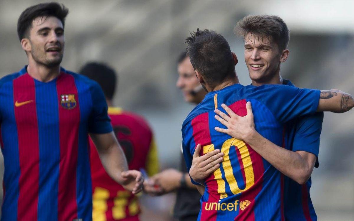 UE Cornellà - Barça B: Un buen test en la Copa Catalunya