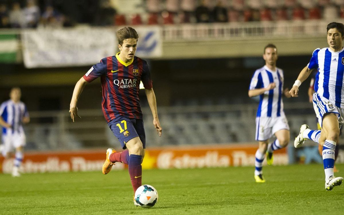By the numbers: Denis Suárez at FC Barcelona B