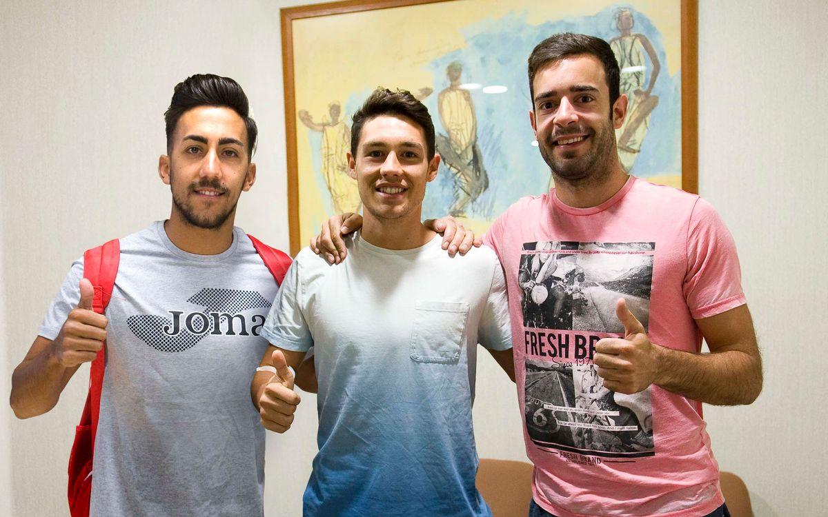 El FC Barcelona Lassa se refuerza con 'Joselito', Roger Serrano y Dídac Plana