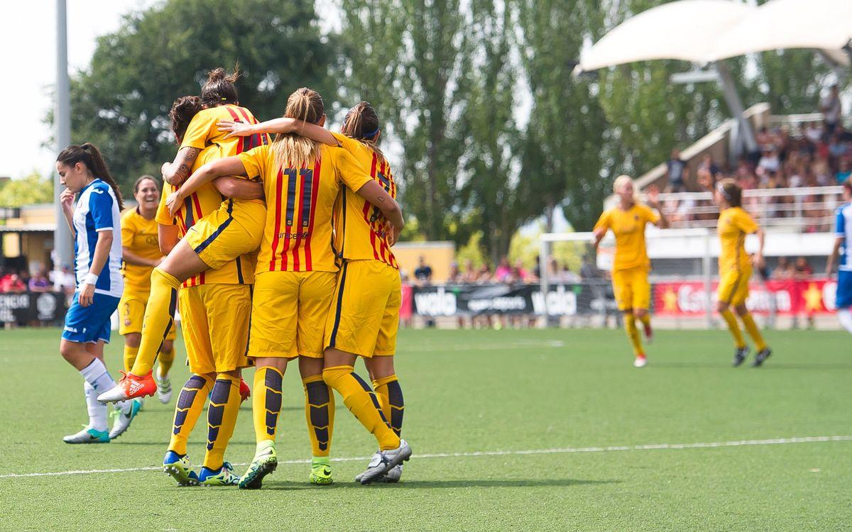 FC Barcelona – RCD Espanyol: Campiones de Catalunya amb solvència (6-0)