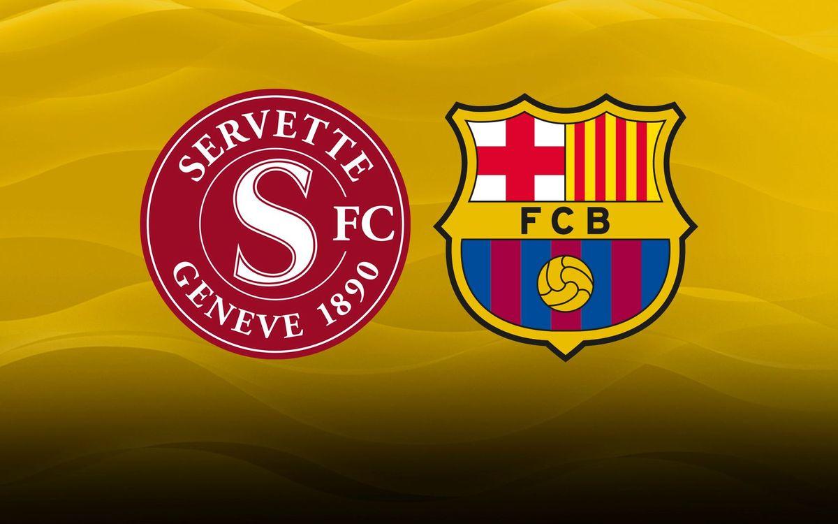 Acuerdo de colaboración entre el FC Barcelona y el Servette FC