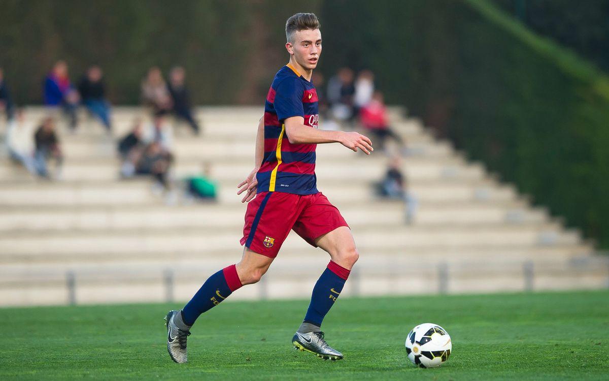 Cinc del Barça, concentrats amb la sub17 espanyola per preparar l'Europeu