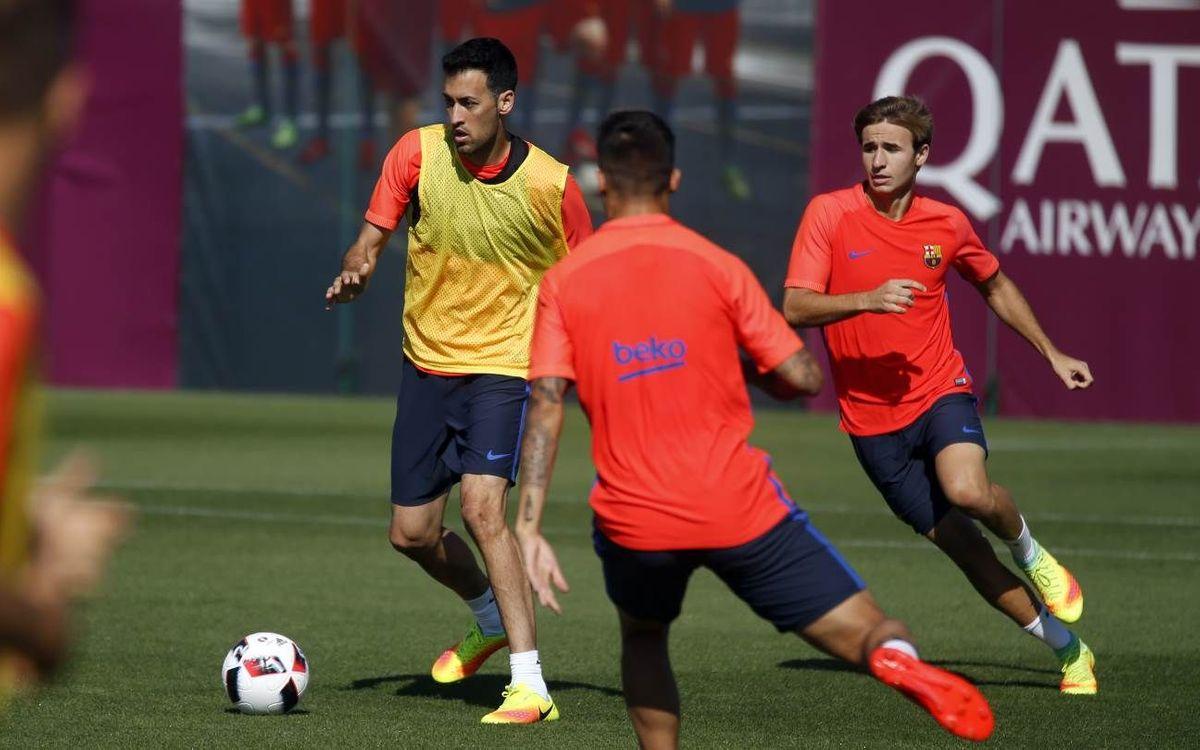 """Sergio Busquets: """"El repte és seguir creixent i guanyant"""""""