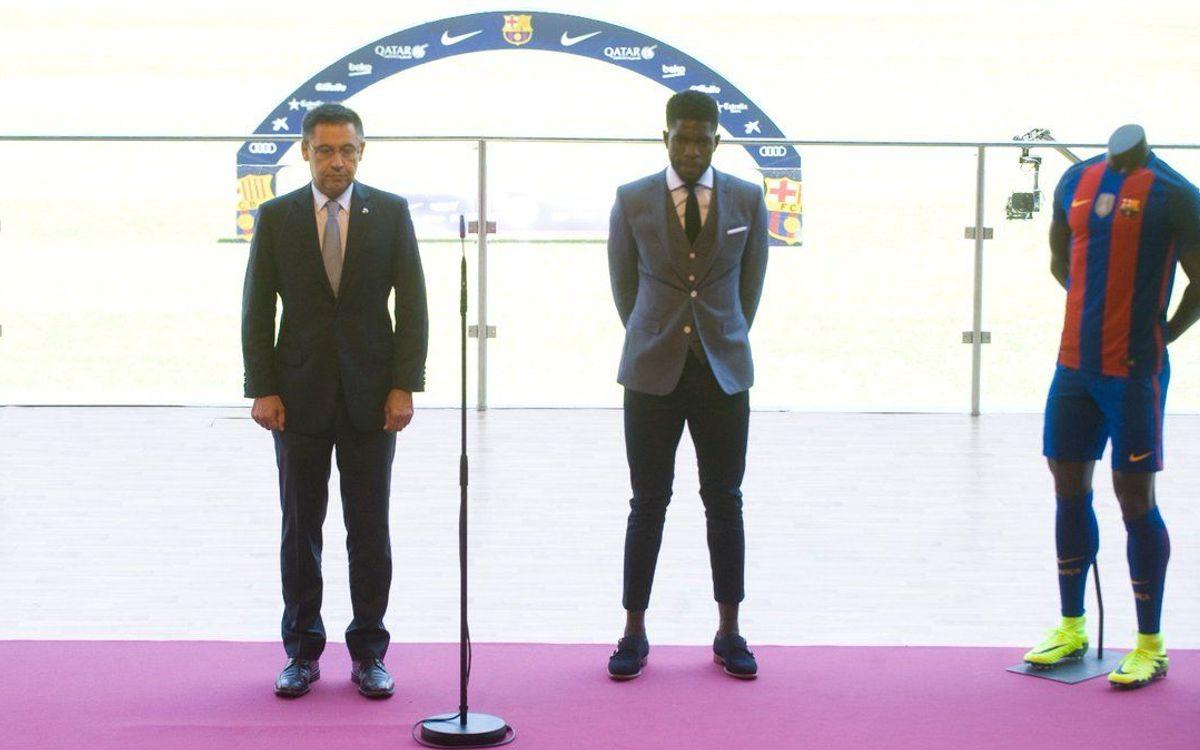 Le FC Barcelone rend hommage aux victimes de l'attentat de Nice