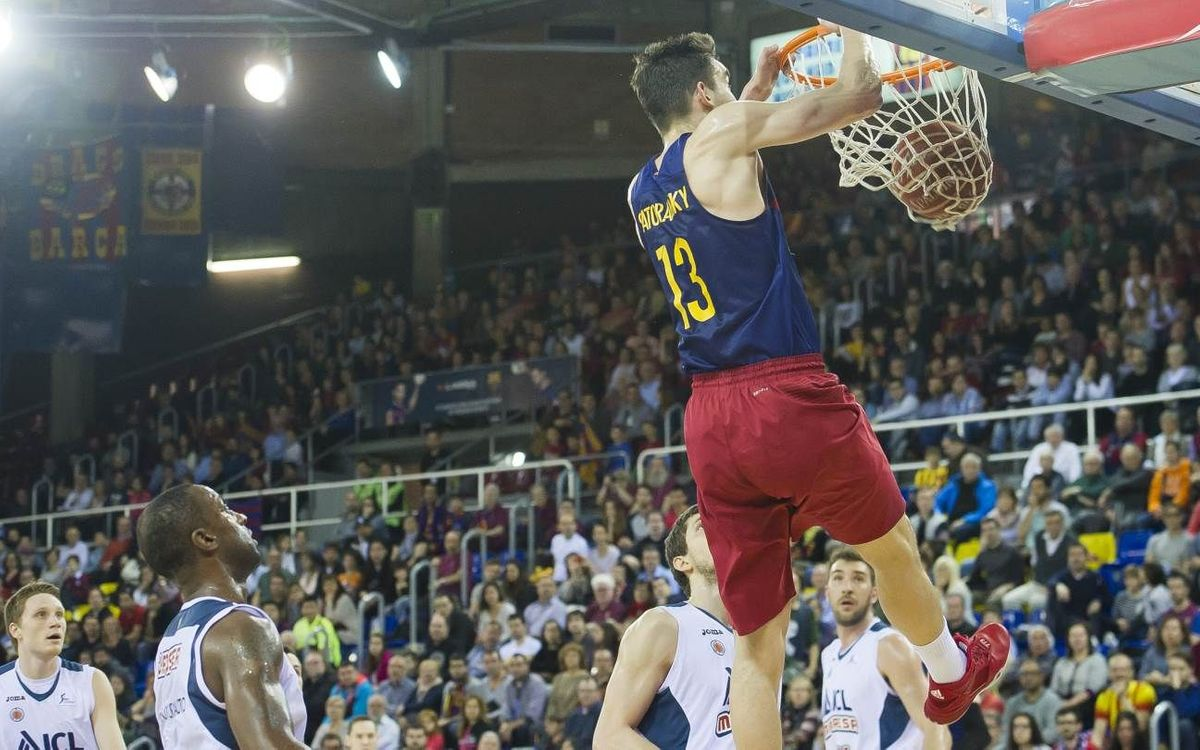FC Barcelona Lassa v ICL Manresa: Sweet moment continues (84–57)