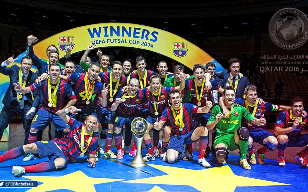 FC Barcelona Lassa to play in Futsal Intercontinental Cup