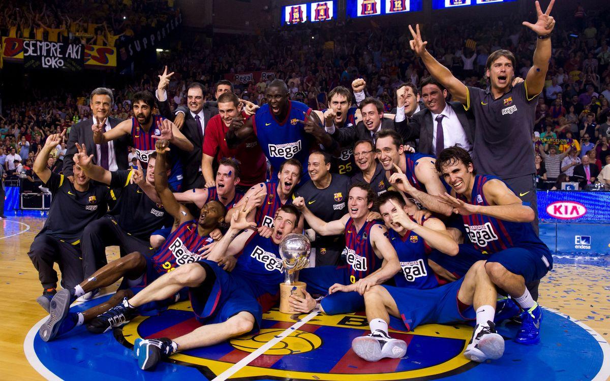 El Barça, líder de la fase regular por 15ª vez en la historia de la ACB