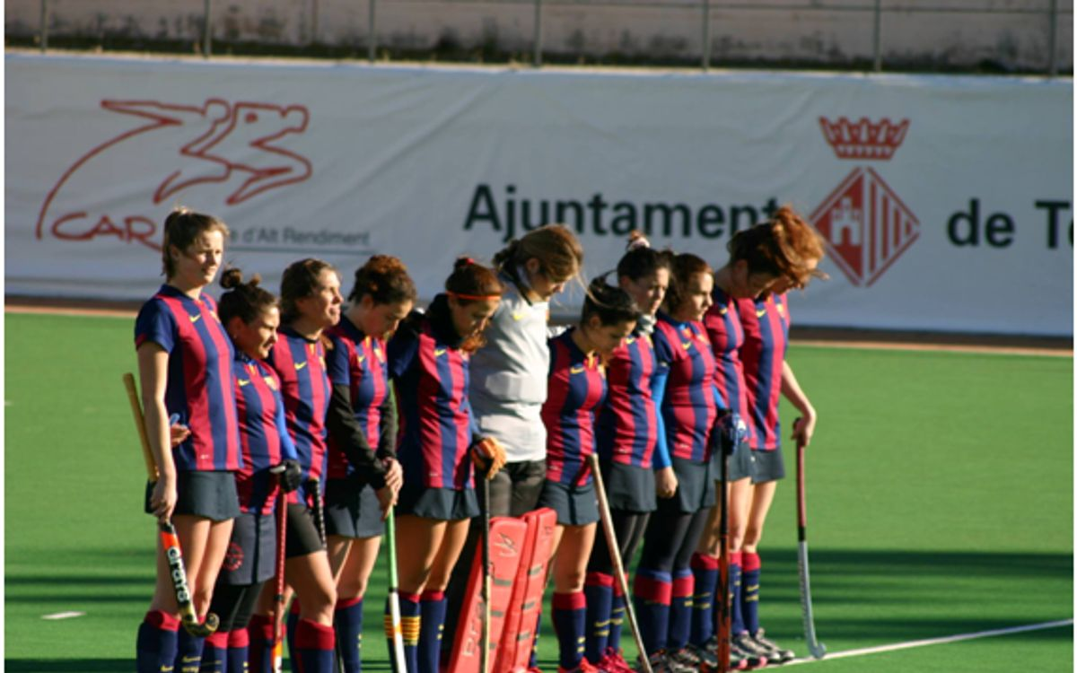 El segundo equipo femenino de hockey hierba sigue en competición y disputa el ascenso a Primera