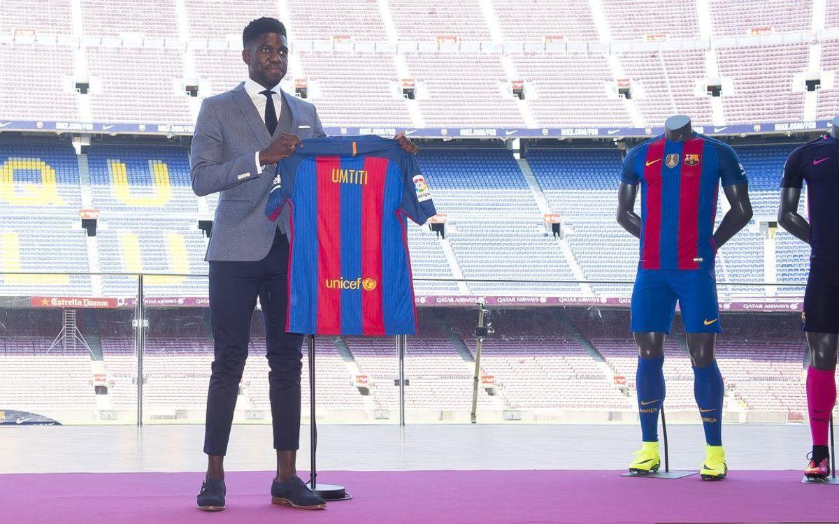 """Samuel Umtiti: """"El Barça i jo compartim caràcter guanyador"""""""