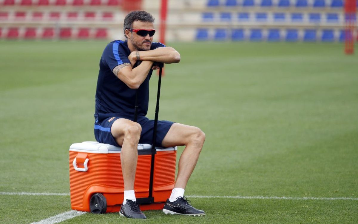 Luis Enrique: We will start on the front foot