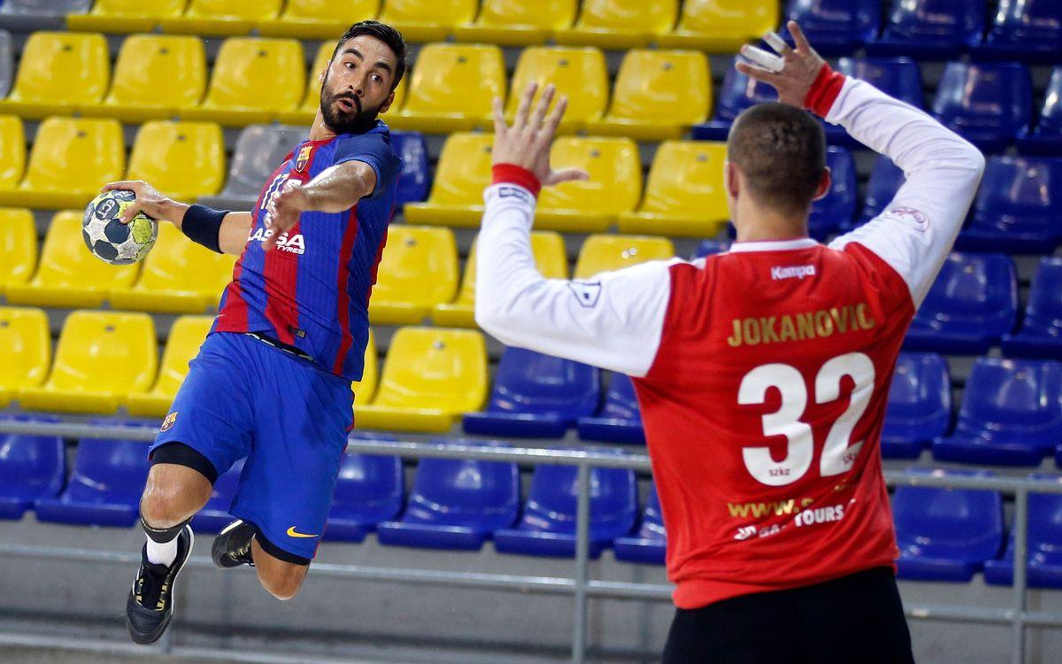 El primer partido oficial del Barça Lassa 16/17