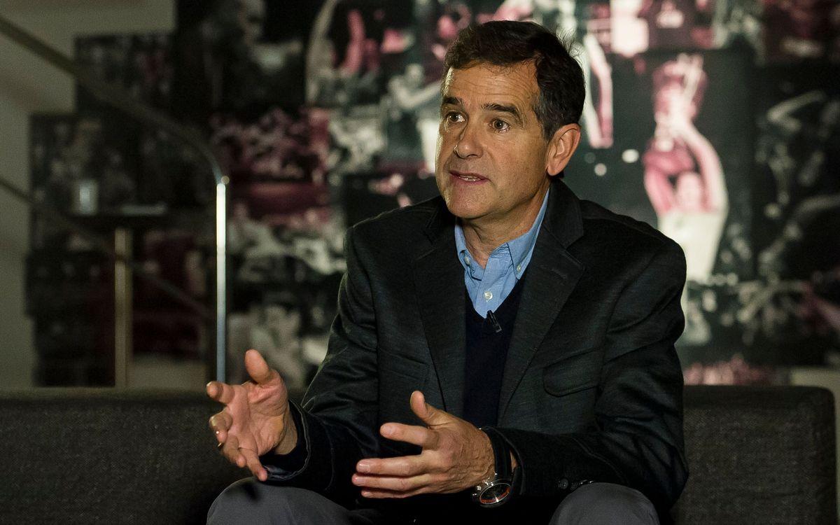 Nacho Solozabal, assessor esportiu de la primera FCBEscola Basket