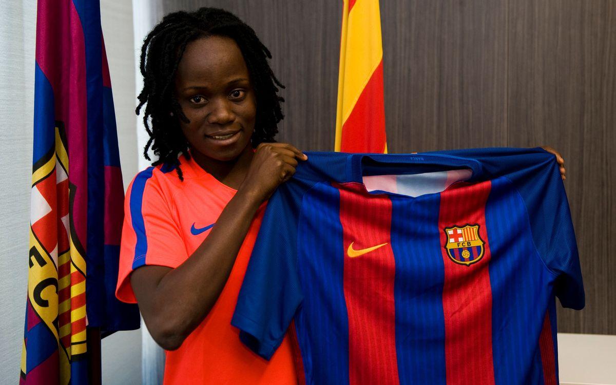 Koko Ange N'Guessan, la sexta incorporación del Barça Femenino