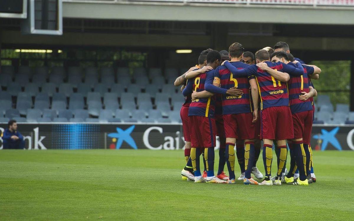CD Olímpic – Barça B: Final de Lliga amb l'objectiu del Top10