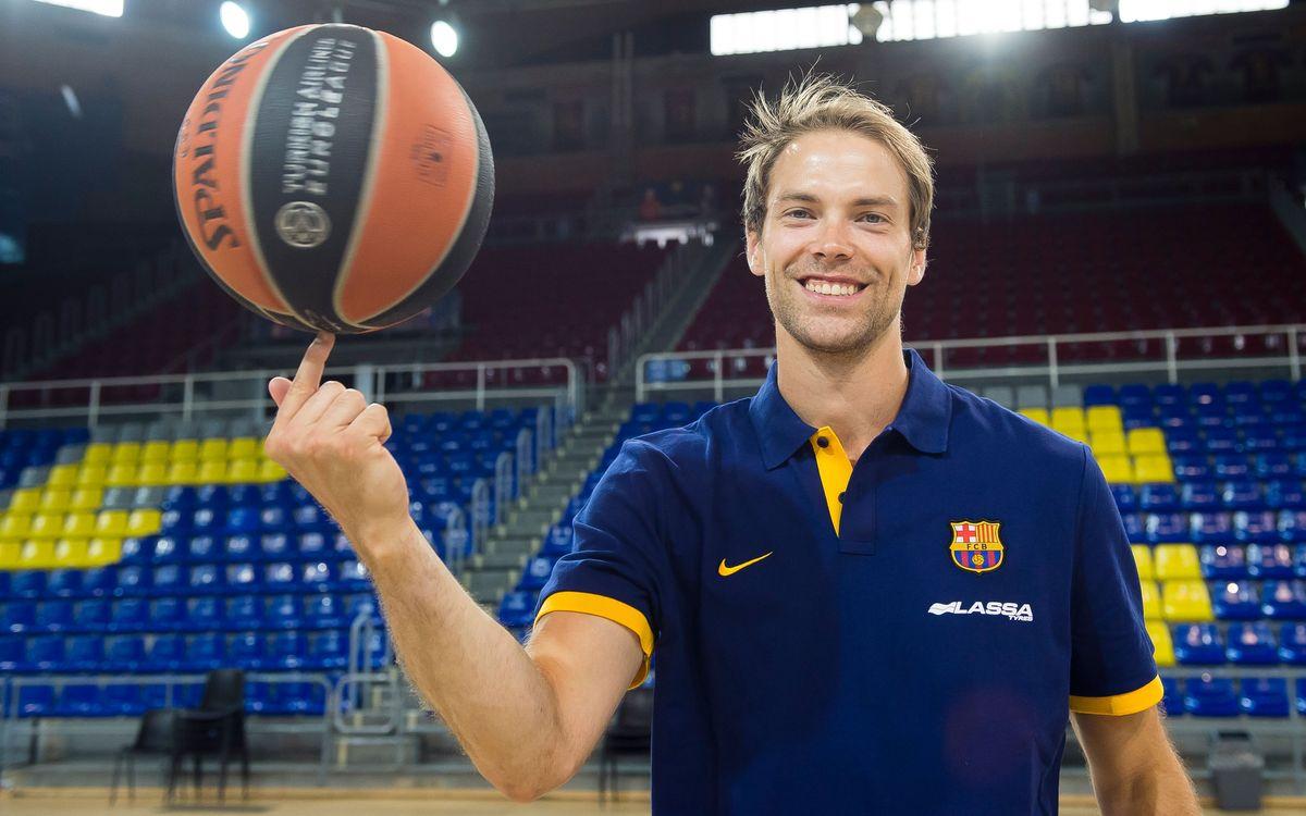 Petteri Koponen, un base-escolta muy versátil para el Barça Lassa