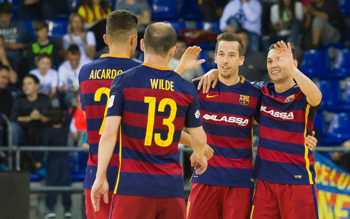 El FC Barcelona estableix un rècord golejador