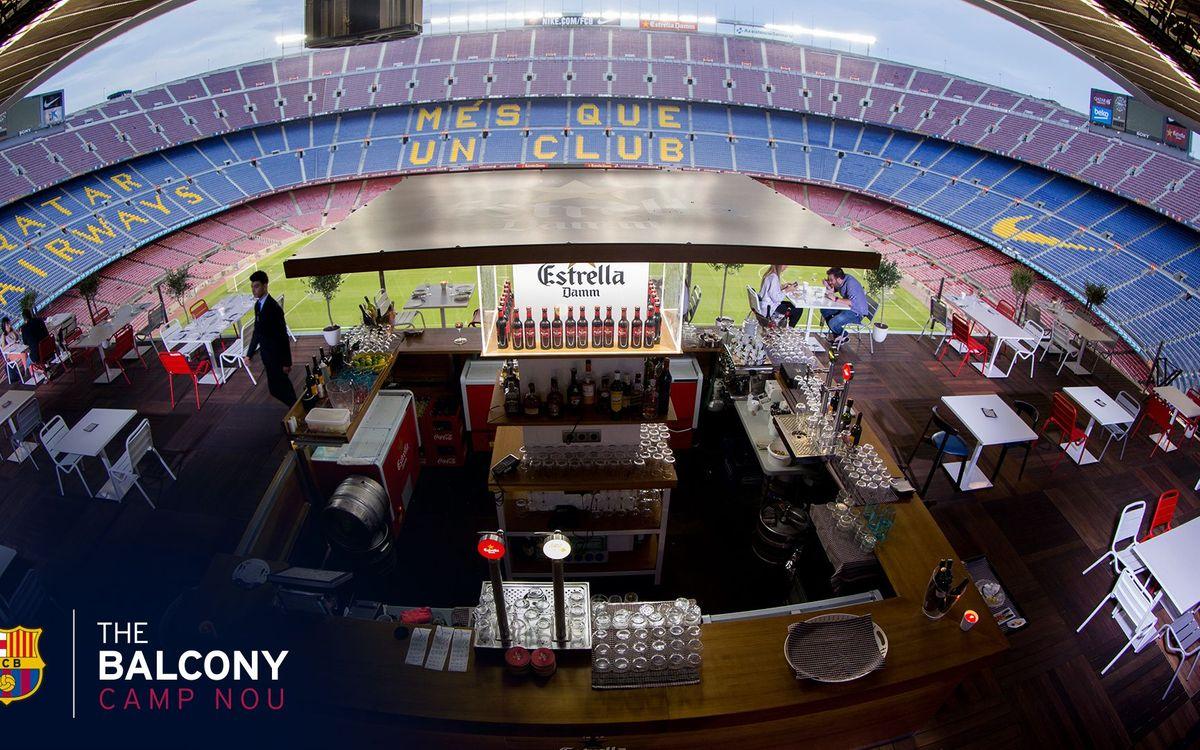 Viu les presentacions de Digne i Umtiti des de la terrassa The Balcony Camp Nou