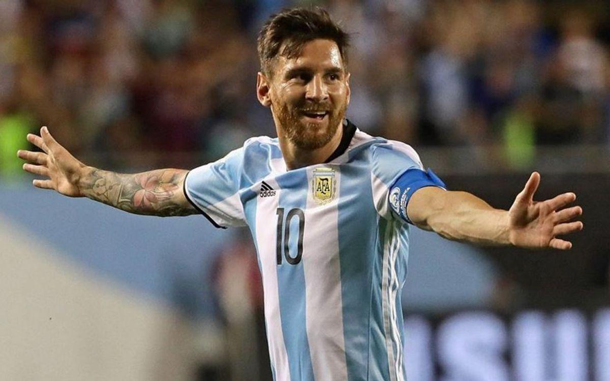 La selección argentina vuelve a convocar a Leo Messi