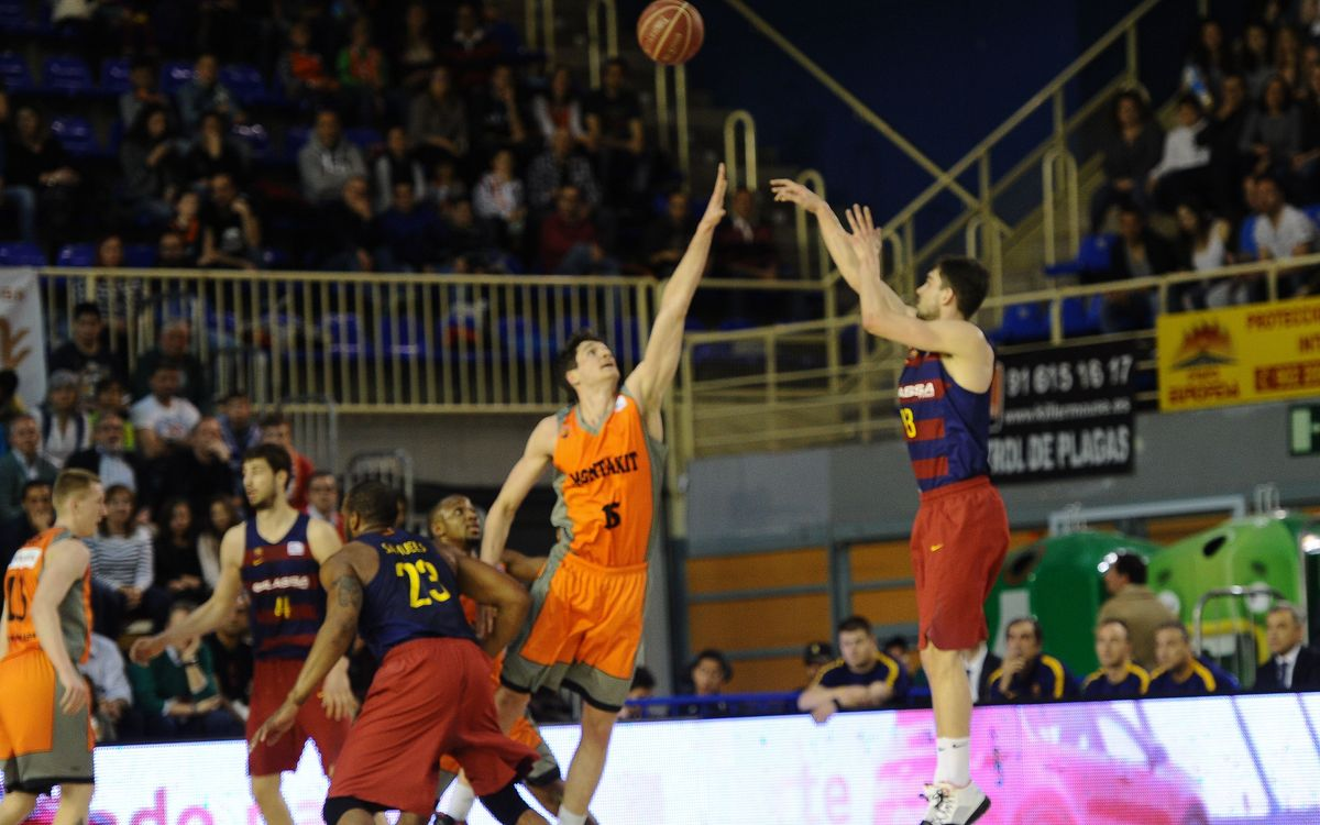 Montakit Fuenlabrada v FC Barcelona Lassa: Tenth league win in a row (82-84)