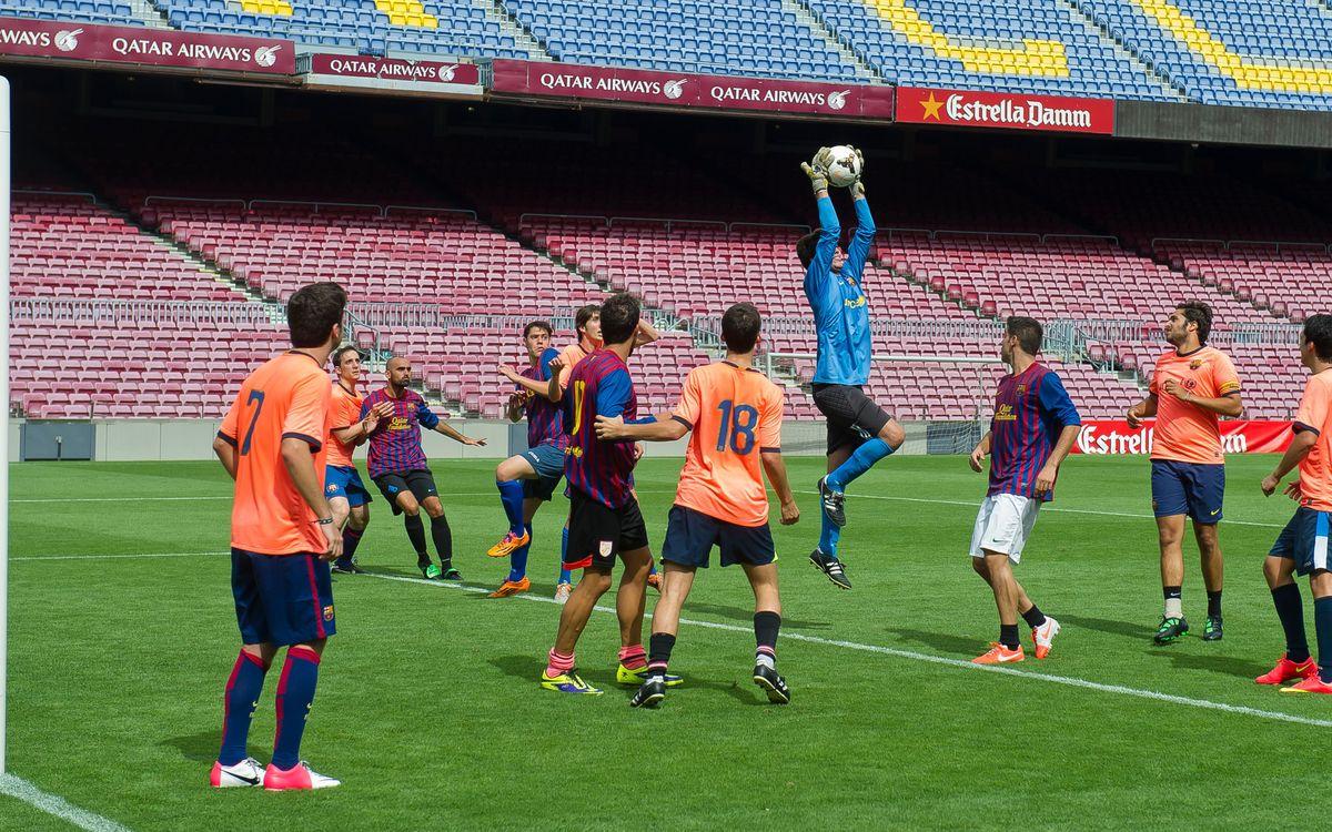 Designados por sorteo los 40 socios 'Jugador 12' que jugarán en el Camp Nou