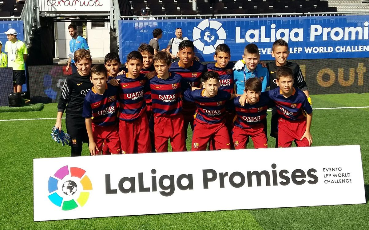 U12 team fall in last 16 of LaLiga Promises