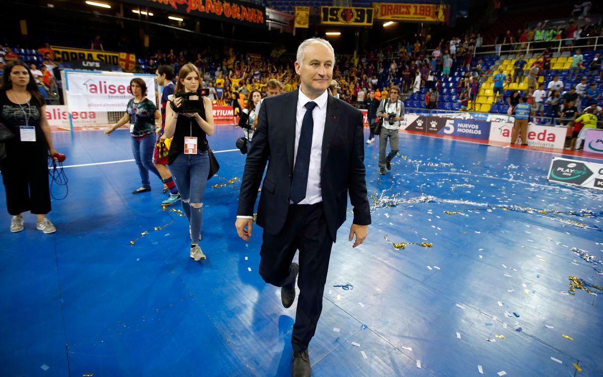 """Marc Carmona: """"Gràcies a la gent, ens han omplert el Palau i ens han empès en moments de dificultat"""""""