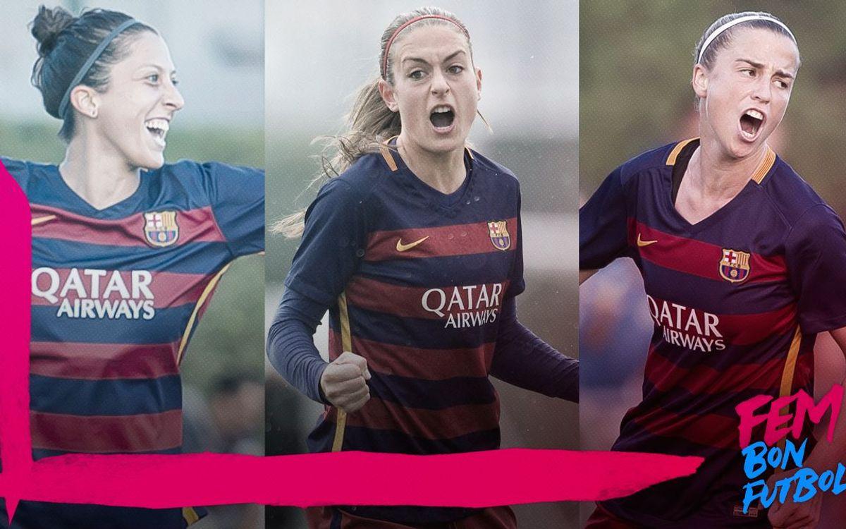 Jenni Hermoso, Alexia Putellas y Bárbara Latorre, entre las ocho máximas goleadoras de la Liga