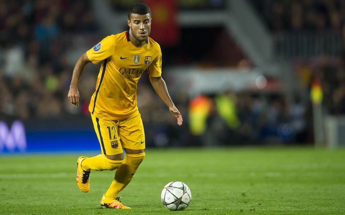 Rafinha returns to action for FC Barcelona