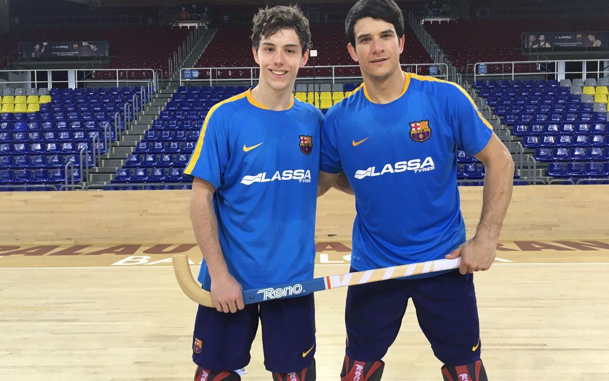Pablo Álvarez y Sergi Llorca: La sociedad del gol en el Barça Lassa