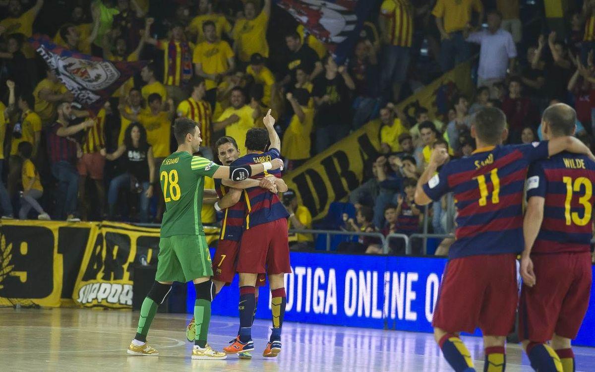 El Barça Lassa, un habitual de les semis a la LNFS